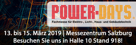 Termine PowerDays 2019